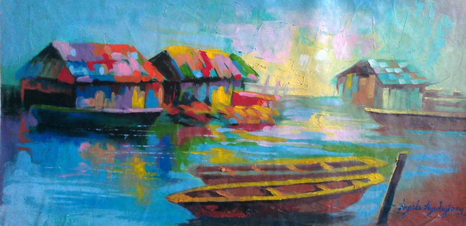 Image gallery nigerian paintings for House painting in nigeria