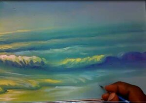 seascape painting process step 4 300x213 Seascape Painting