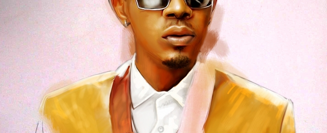 Patoranking drawing by ayeola ayodeji