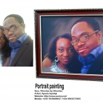 10% discount on 16inches by 20inches portrait painting