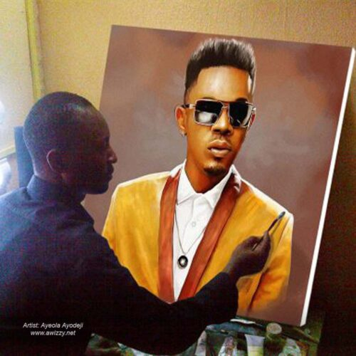 30x32inchesPortrait painting 500x500 Artwork paintings from Nigeria Africa