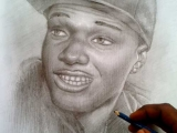 wizkid drawing by nigeria best portrait artist ayodeji ayeola 5 160x120 Drawings by Ayeola Ayodeji