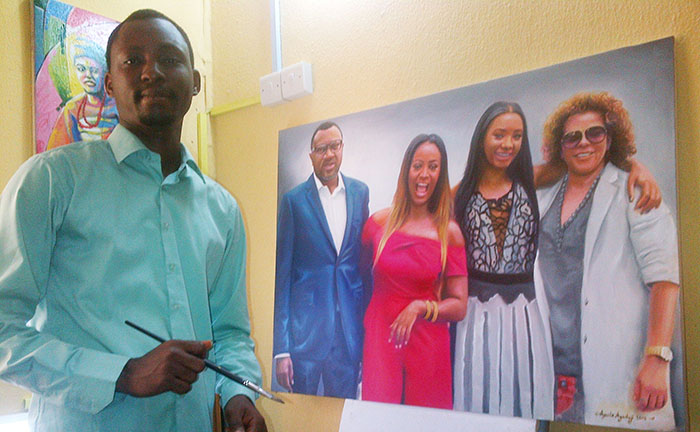 femi otedola got painted