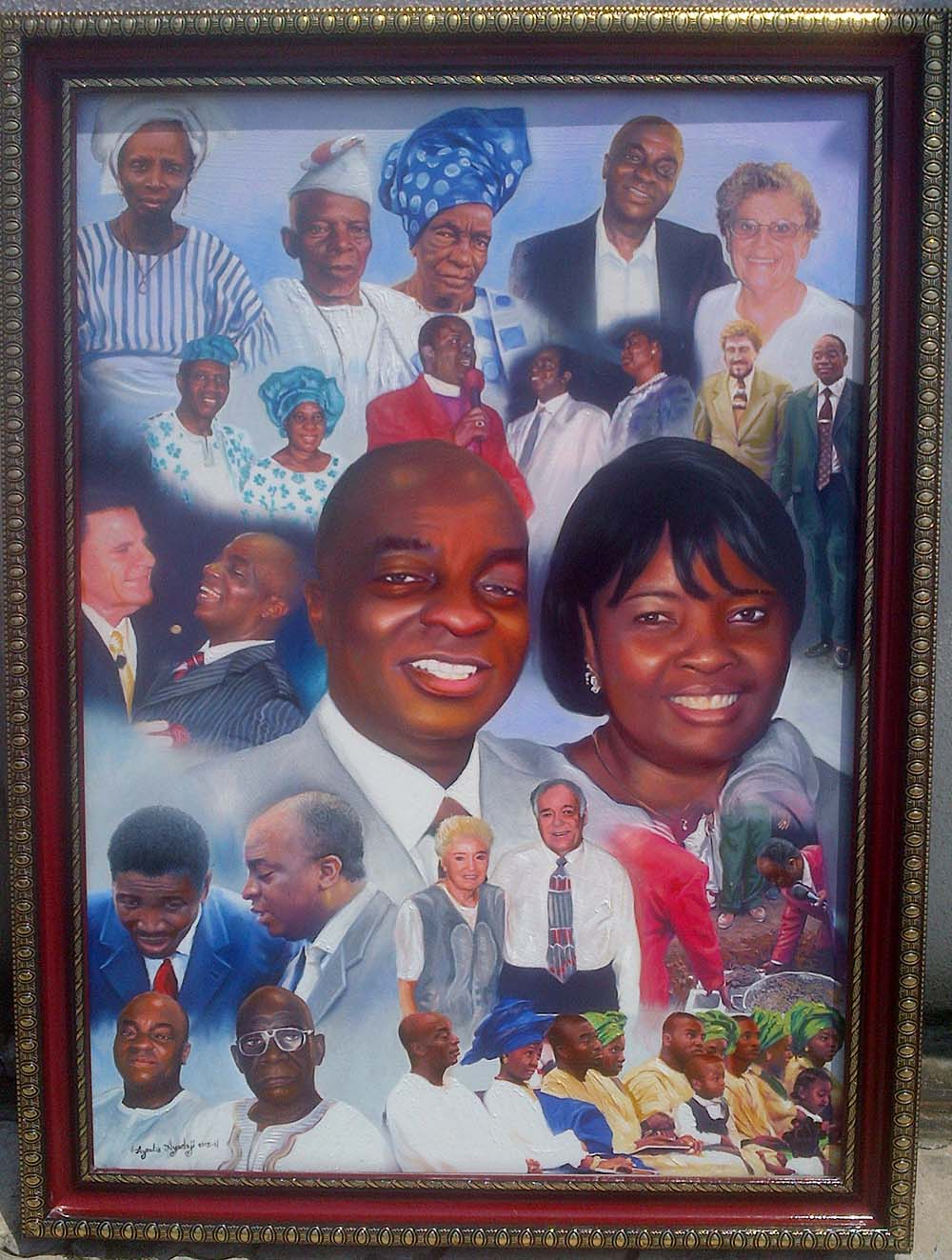 IMG 20151016 01160 Bishop Oyedepo special moments portrait painting and special people in his life