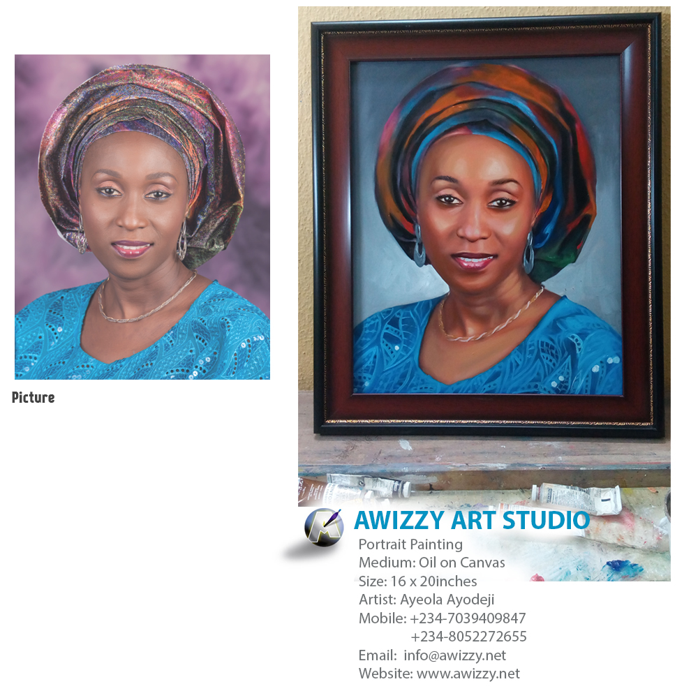 portrait painting  Portrait painting