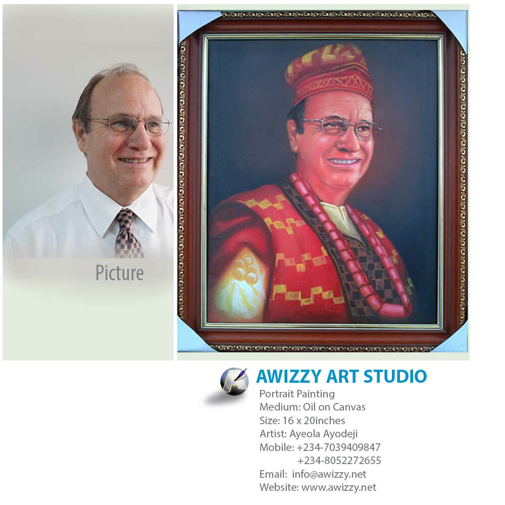 whiteman portrait Portrait painting